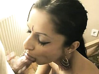 Look at Indian Bhabhi Sucking Husband Cock amateur