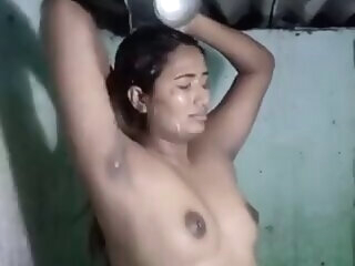 Look at Swathi Naidu Bathing indian