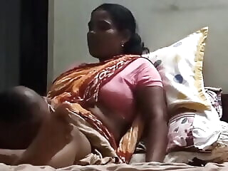 Look at Owner licks Desi maid's pussy old & young