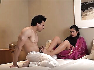 Look at Hot Desi Mom stripped and assfucked rough by young boy anal