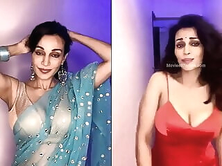 Look at Flora Saini's Hot Cleavage Show celebrity