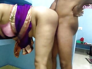 Look at First Time Queen Sonali Has Painful Sex In Blue Saree, cum on boobs asian
