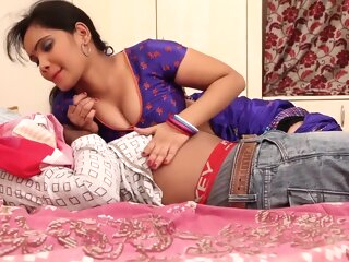 Look at Anjali Aunty Romance With Husband On Bed (Part 1) amateur